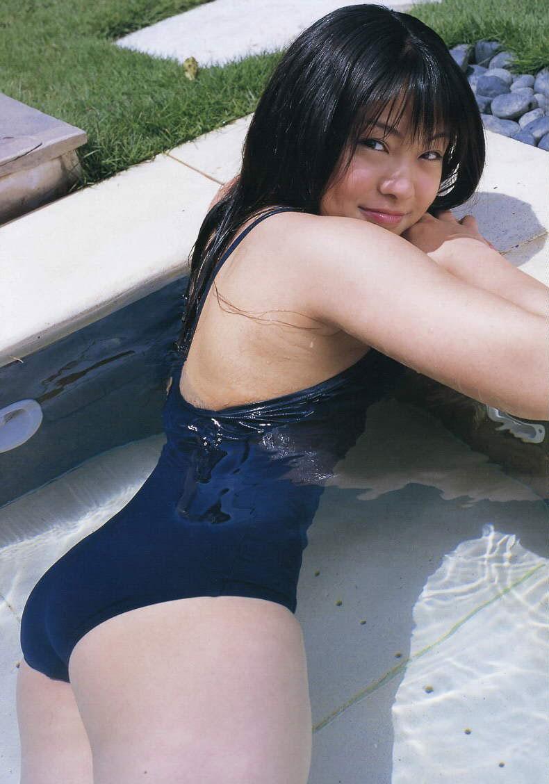 【スク水エロ画像】マニアックでも興奮してしまう!スクール水着美少女!? 62