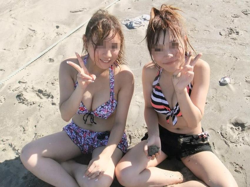 【素人水着エロ画像】素人娘たちの水着姿が生々しくて抜けるwwwwwwwww 09