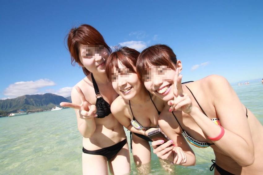 【素人水着エロ画像】素人娘たちの水着姿が生々しくて抜けるwwwwwwwww 15