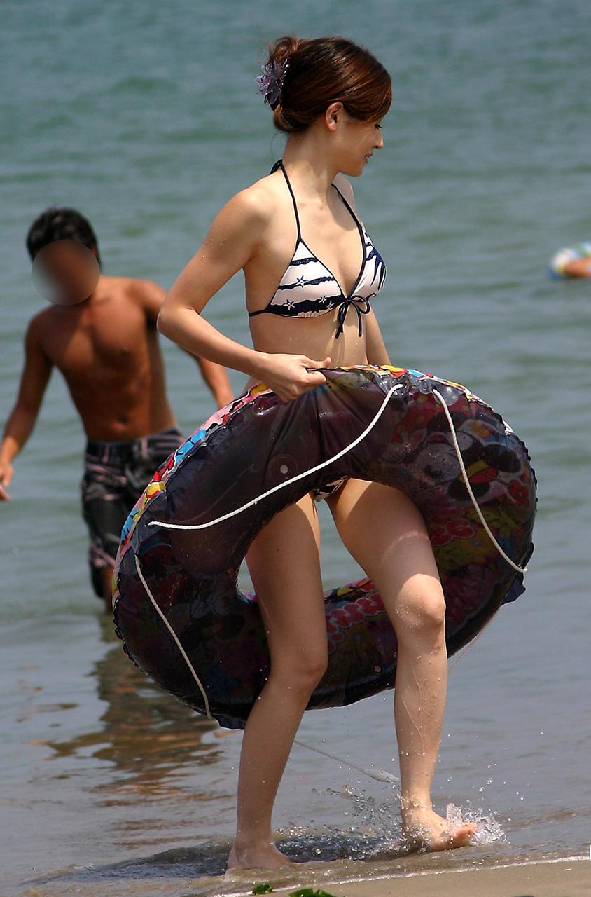 【素人水着エロ画像】素人娘たちの水着姿が生々しくて抜けるwwwwwwwww 31