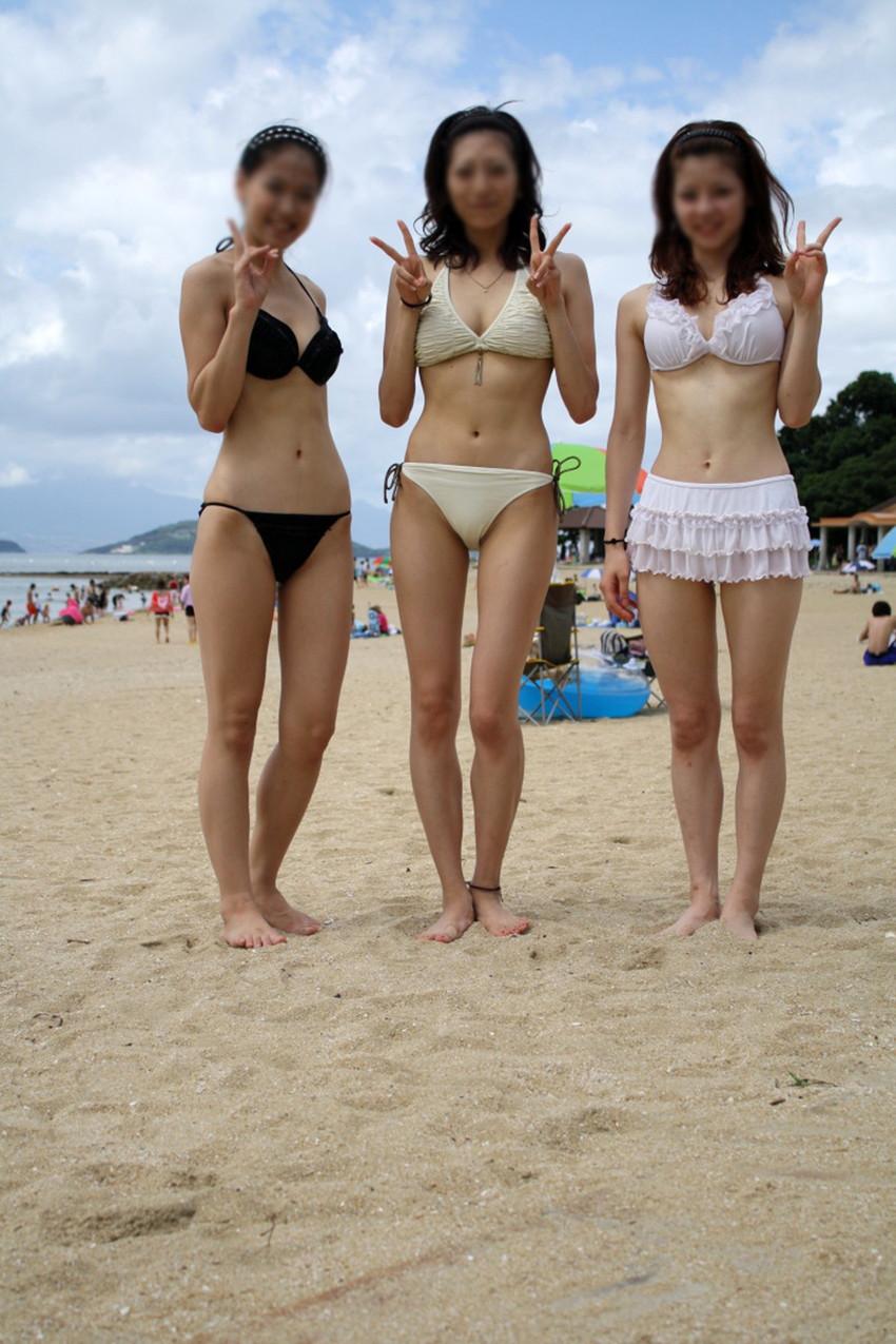 【素人水着エロ画像】素人娘たちの水着姿が生々しくて抜けるwwwwwwwww 39