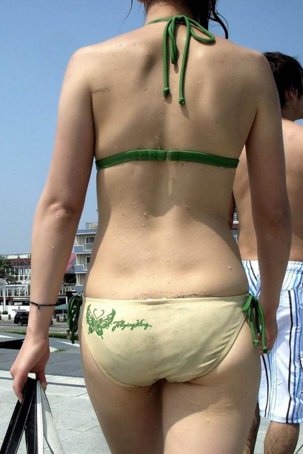 【素人水着エロ画像】素人娘たちの水着姿が生々しくて抜けるwwwwwwwww 44