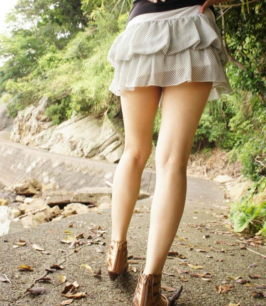【美脚エロ画像】美しい脚線美の先には…妄想とまらない美脚の女の子! 24
