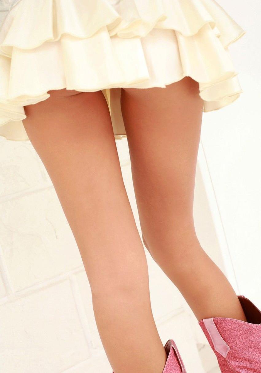 【美脚エロ画像】美しい脚線美の先には…妄想とまらない美脚の女の子! 30