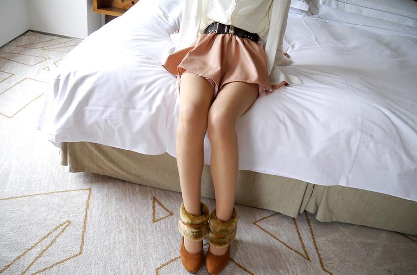 【美脚エロ画像】美しい脚線美の先には…妄想とまらない美脚の女の子! 47
