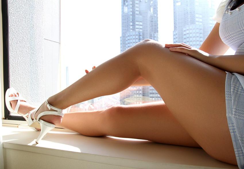 【美脚エロ画像】美しい脚線美の先には…妄想とまらない美脚の女の子! 78