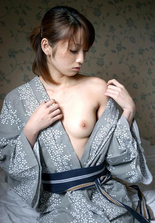 【和服エロ画像】和服姿のエロスに大興奮!これぞ日本人の心だよな! 20