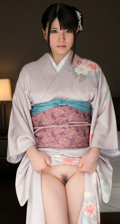 【和服エロ画像】和服姿のエロスに大興奮!これぞ日本人の心だよな! 34