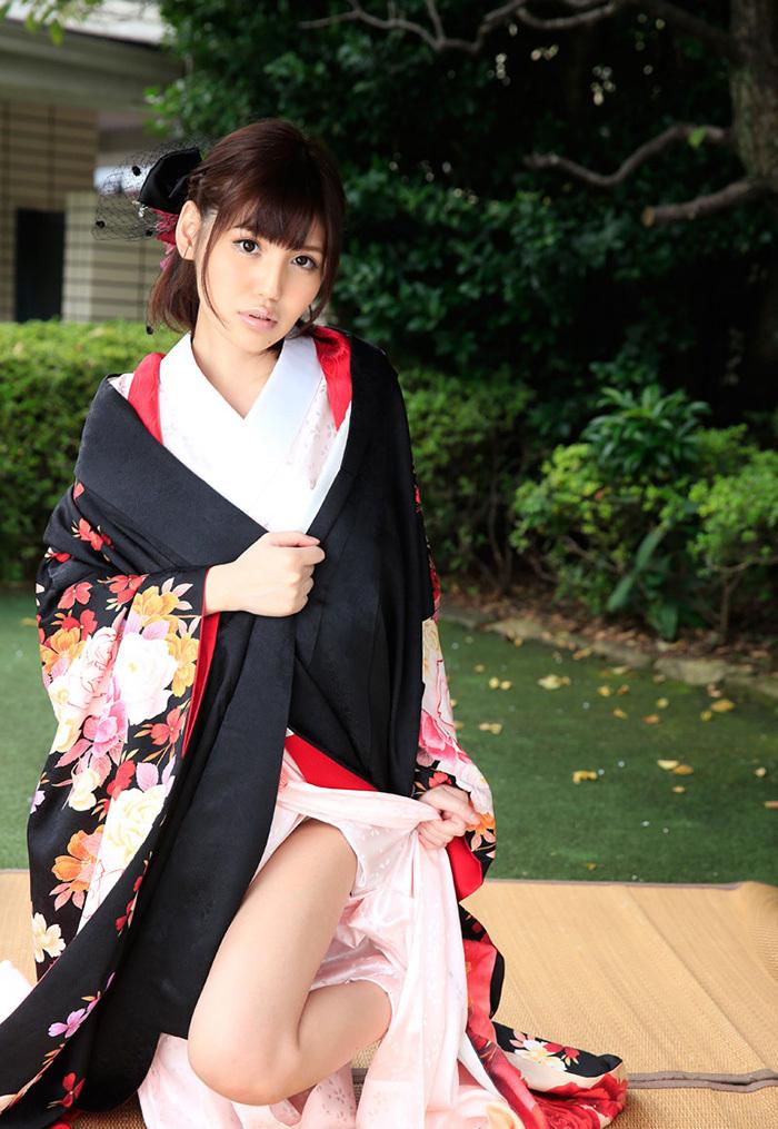 【和服エロ画像】和服姿のエロスに大興奮!これぞ日本人の心だよな! 57