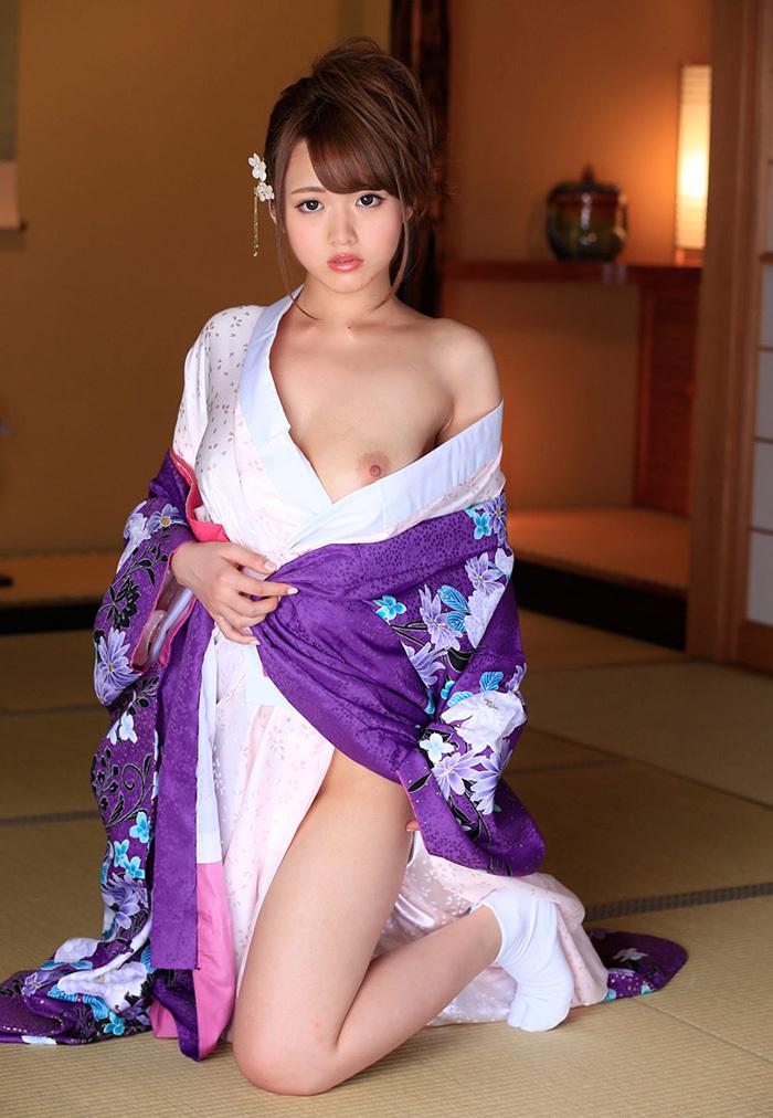 【和服エロ画像】和服姿のエロスに大興奮!これぞ日本人の心だよな! 73