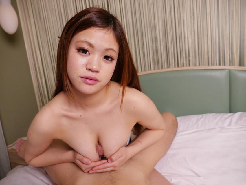 【パイズリエロ画像】おっぱい好きには堪らない巨乳娘のご奉仕プレイ! 64