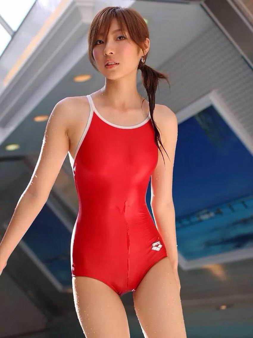 【スク水エロ画像】スクール水着姿のフレッシュな魅力いっぱいの美少女! 31
