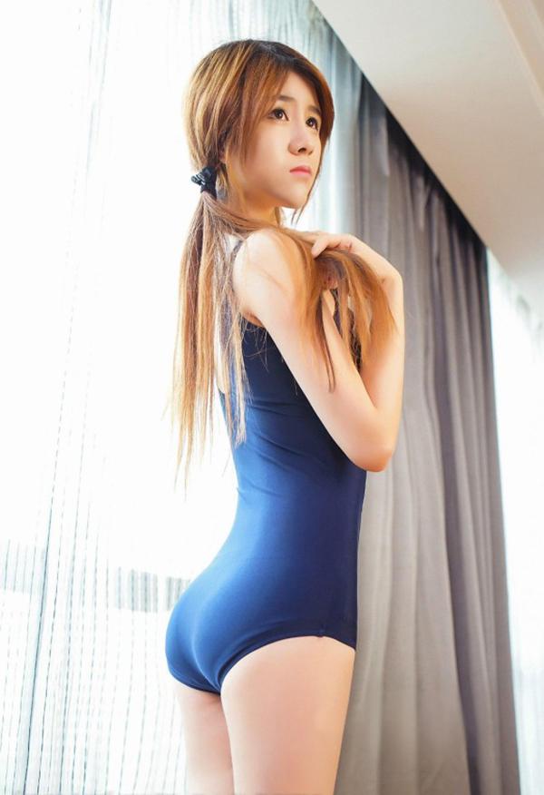 【スク水エロ画像】スクール水着姿のフレッシュな魅力いっぱいの美少女! 34