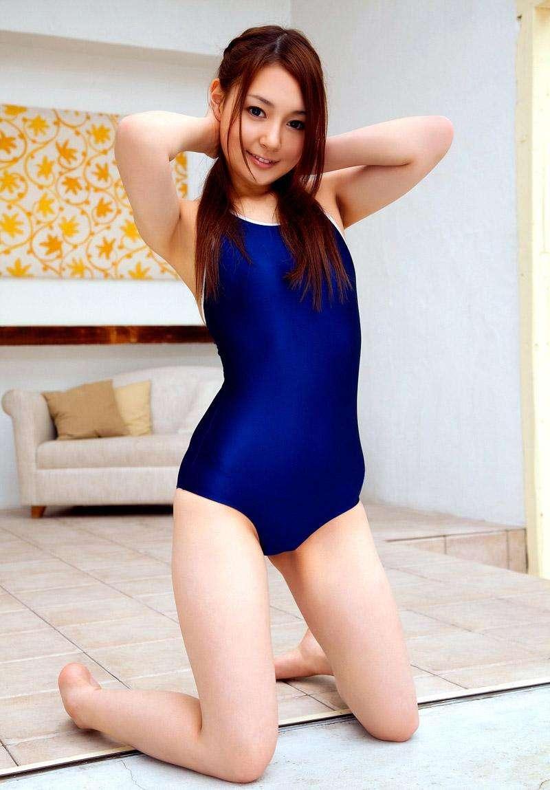 【スク水エロ画像】スクール水着姿のフレッシュな魅力いっぱいの美少女! 38
