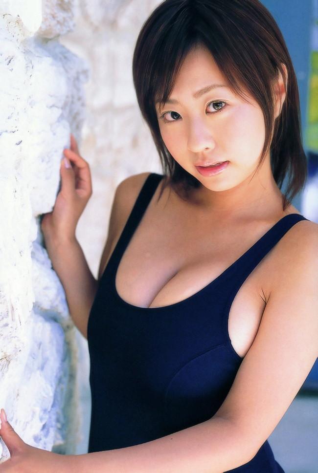 【スク水エロ画像】スクール水着姿のフレッシュな魅力いっぱいの美少女! 72