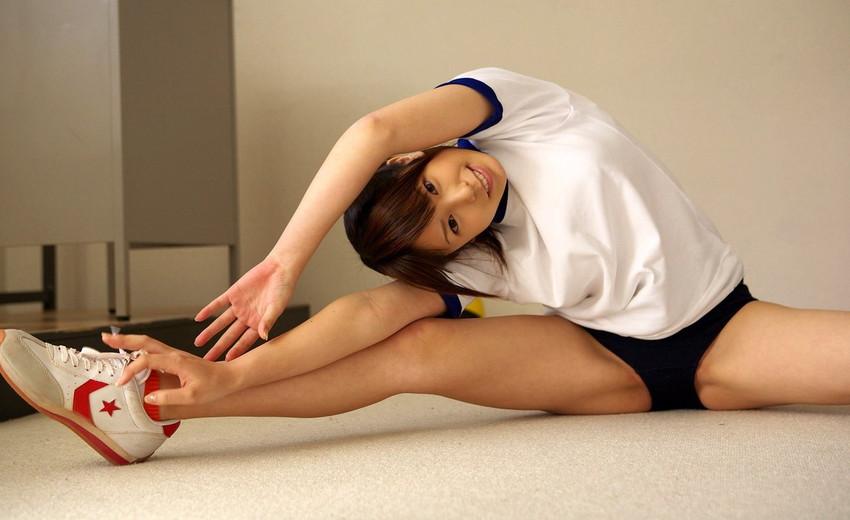 【体操服エロ画像】マニアックな体操服&ブルマ!これに興奮するやつ危険だぞ!? 42