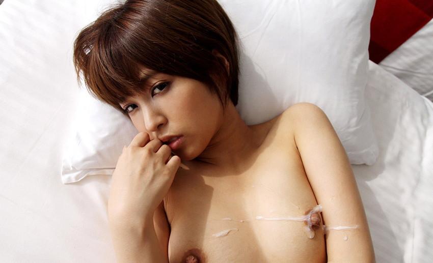 【射精エロ画像】これはセックス事後!?ザーメントッピングされた女子www 50