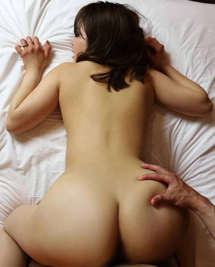 【バックエロ画像】後ろからハメて!バックでセックスしている男女! 48
