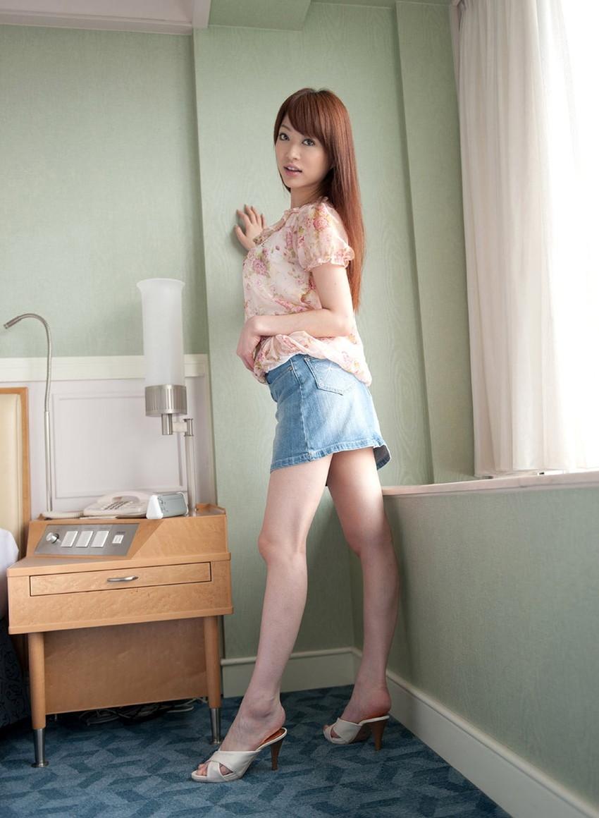【美脚エロ画像】ため息がこぼれるほど美しい脚線美に見とれてしまうやんけ! 59