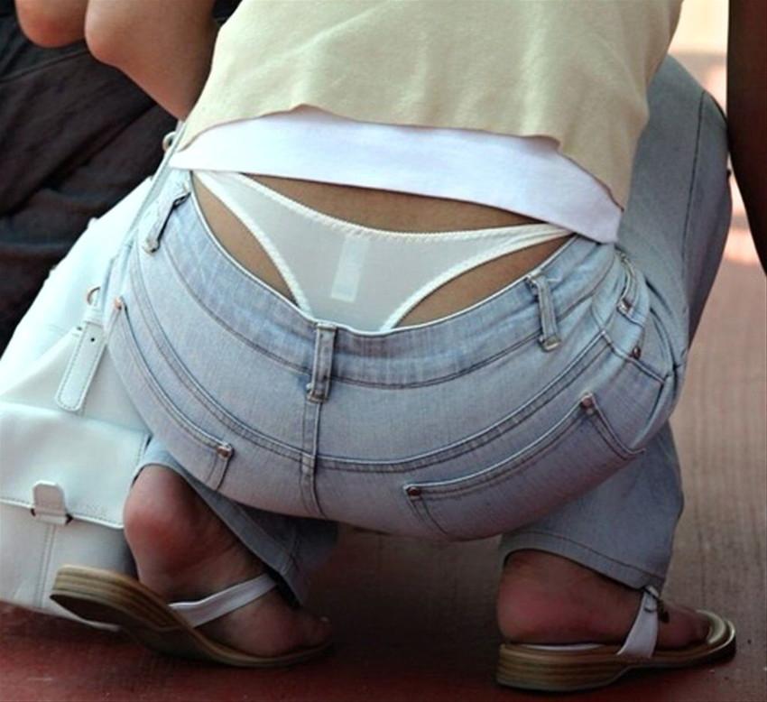【ローライズエロ画像】過激すぎるファッションローライズの女の子たち! 16
