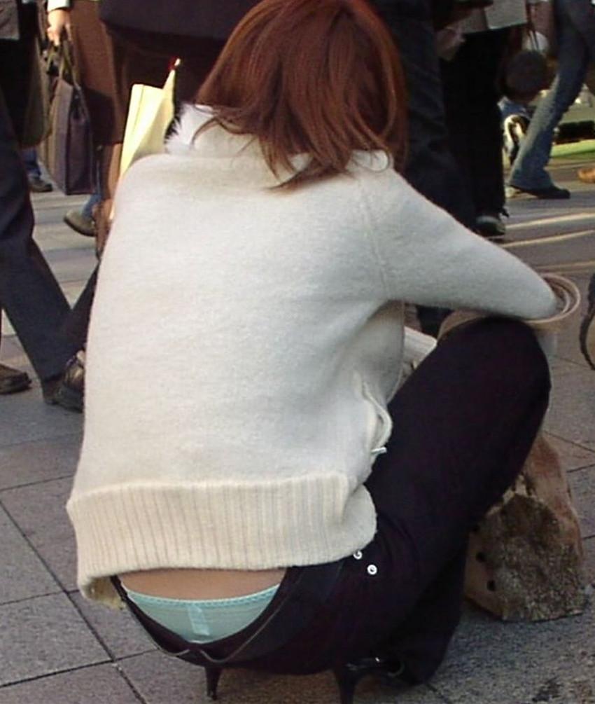 【ローライズエロ画像】過激すぎるファッションローライズの女の子たち! 28