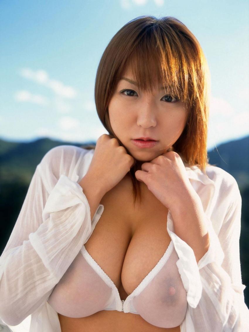 【透け下着エロ画像】まるで隠せていない破廉恥すぎる下着の画像がこちらwww 48