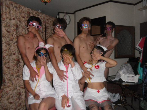 【ハプニングバー】夜な夜な繰り広げられる上級者たちの夜遊びエロ画像